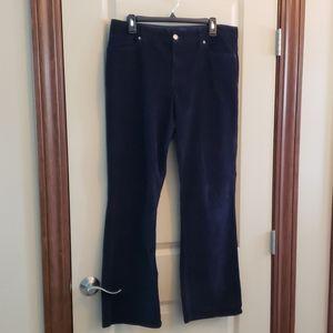 Size 12 women's Sonoma black corduroy pants